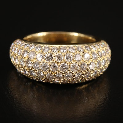 18K 3.50 CTW Diamond Band