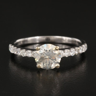 18K 1.31 CTW Diamond Ring