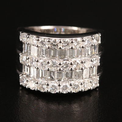Odelia 18K 3.34 CTW Diamond Ring