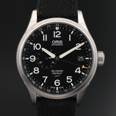 Oris Big Crown Pro Pilot GMT Stainless Steel Automatic Wristwatch