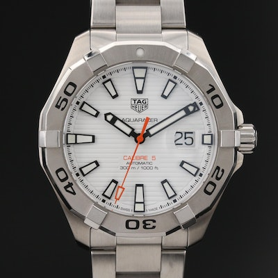 TAG Heuer Aquaracer 300M Calibre 5 Stainless Steel Automatic Wristwatch