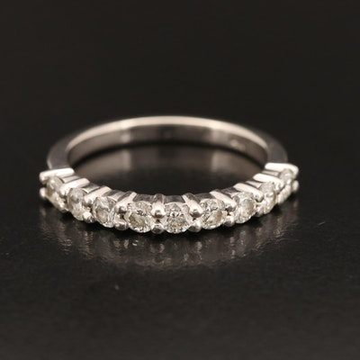 14K Diamond Band