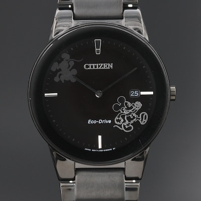 Citizen Eco-Drive Mickey Mouse Wristwatch