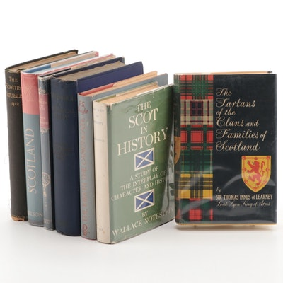 """Tartans of the Clans and Families of Scotland"" and More Scottish History Books"