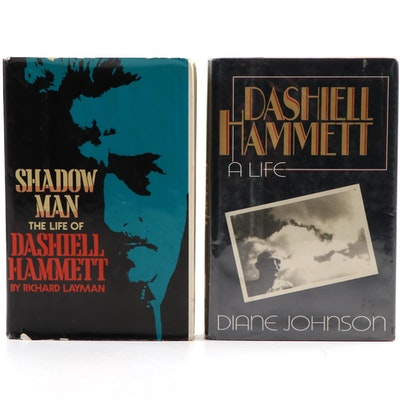 First Edition Dashiell Hammett Biographies by Richard Layman and Diane Johnson
