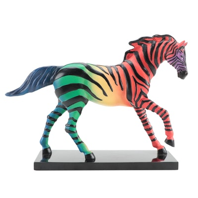 "The Trail of Painted Ponies ""Zorse"" Resin Figurine, 2009"
