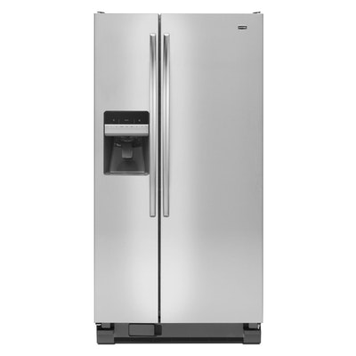 Maytag Stainless Steel 22 Cu. Ft. Side-by-Side Refrigerator