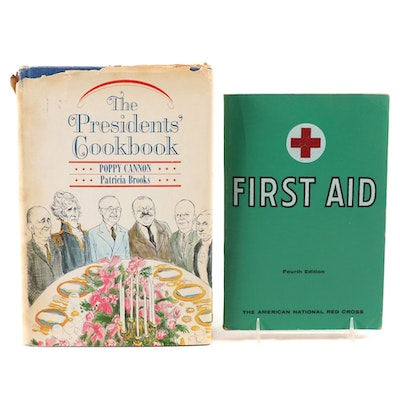 "Book Club Edition ""The Presidents' Cookbook"" by Cannon and Brooks and More"