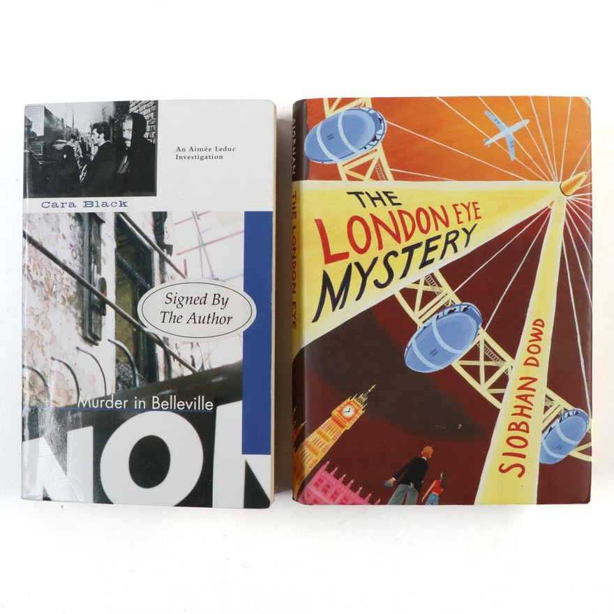 """Signed First Edition """"The London Eye Mystery"""" by Siobhan Dowd and More"""