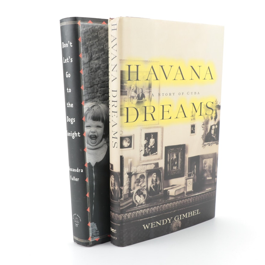 "Signed First Edition ""Havana Dreams"" by Wendy Gimbel and More"