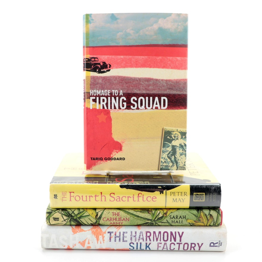 """Signed First Edition """"The Harmony Silk Factory"""" by Tash Aw and More Novels"""