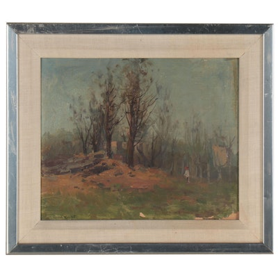 Grant Wright Forest Landscape Painting