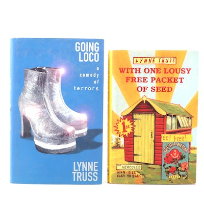 "Signed First Editions of ""Going Loco"" and More by Lynne Truss"