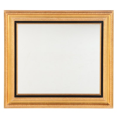 Rectangular Giltwood Wall Mirror