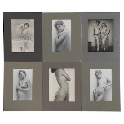 Female Nude Silver Gelatin Photographs, 1980s