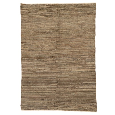 5'7 x 8' Hand-Knotted Afghan Gabbeh Area Rug