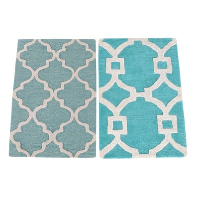 2' x 3'1 Hand-Tufted Indian Accent Rugs from The Rug Gallery