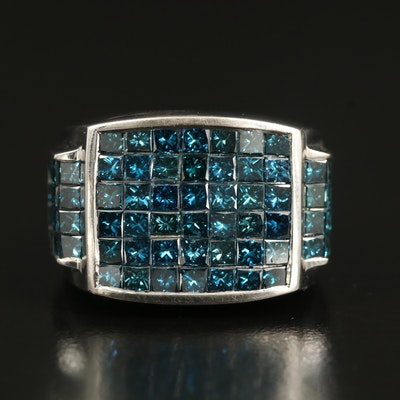 18K 6.07 CTW Diamond Ring