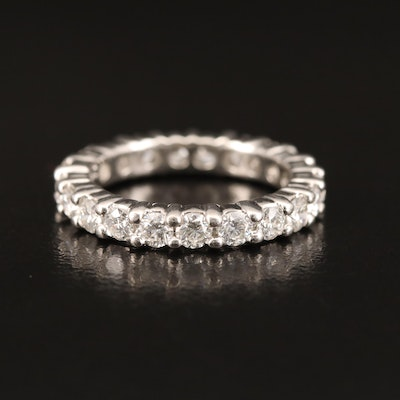 Platinum 1.36 CTW Diamond Eternity Band