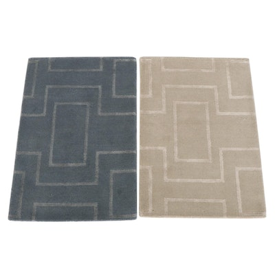 2'1 x 3'1 Hand-Knotted Indian Accent Rugs from The Rug Gallery