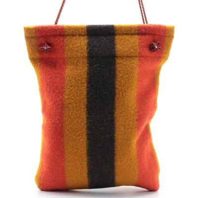 Hermès Grooming Aline Bag in Rocabar Wool