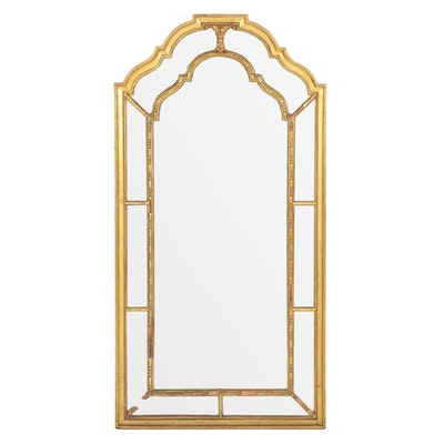 Sterling & Welch Regency Style Giltwood Double Frame Wall Mirror, Early 20th C.