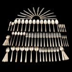 "Art Deco Wm. Rogers ""Terrace""  Flatware in Chest, Early to Mid 20th Century"