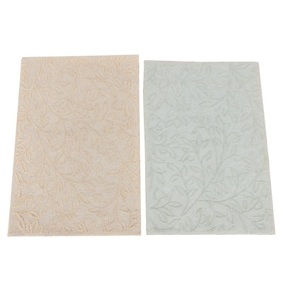 2' x 3' Hand-Tufted Chinese Cotton Accent Rugs from The Rug Gallery
