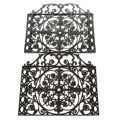 Victorian Style Cast Iron Pierced Architectural Grate