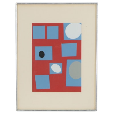 "Jean Hans Arp Serigraph ""Constellation"""