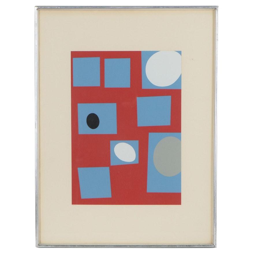 "Jean Hans Arp Serigraph ""Constellation"""
