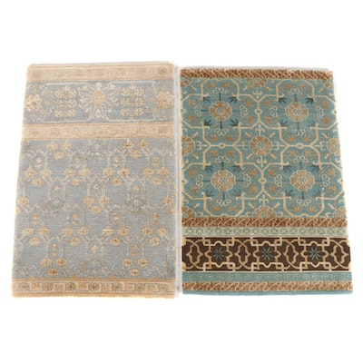 1'11 x 3'0 Hand-Knotted Nepalese Accent Rugs from The Rug Gallery