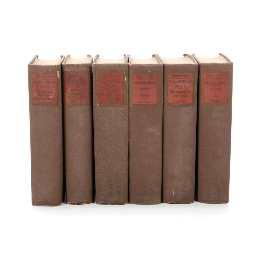 "Limited Edition ""The Complete Works and Life of Laurence Sterne"" Six-Volume Set"