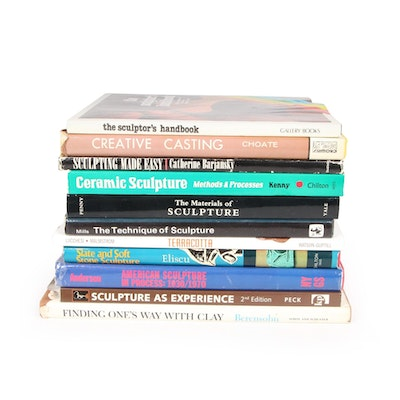"""""""The Technique of Sculpture,"""" """"Creative Casting,"""" and More Instructional Books"""
