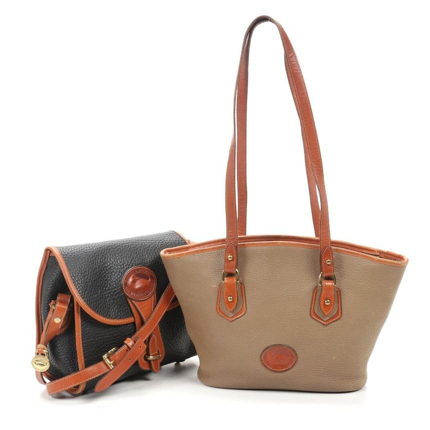 Dooney & Bourke All-Weather Top Grain Leather Handbags