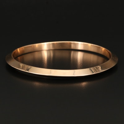 Knife Edge Bangle