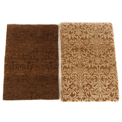 2' x 3' Hand-Knotted Nepalese Wool Accent Rugs from The Rug Gallery
