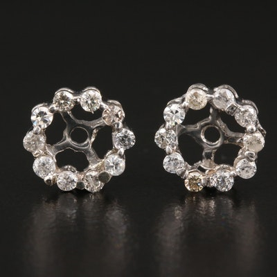 10K Diamond Earring Jackets
