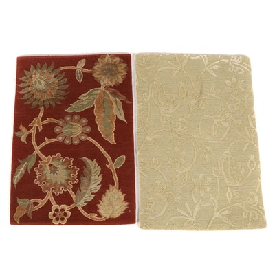 2' x 3' Hand-Knotted Nepalese Accent Rugs from The Rug Gallery