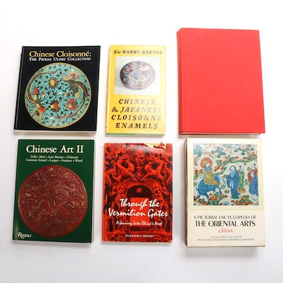 """""""Chinese and Japanese Cloisonné Enamels"""" and More East Asian Art History Books"""