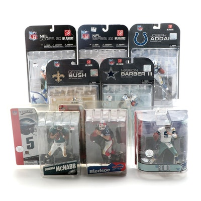 McFarlane Toys NFL Action Figures Including Reggie Bush, Tony Romo, and More