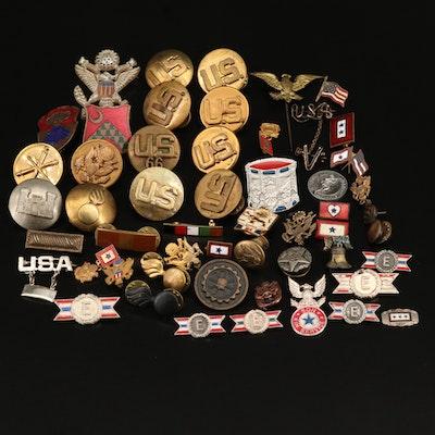Military Pin Assortment