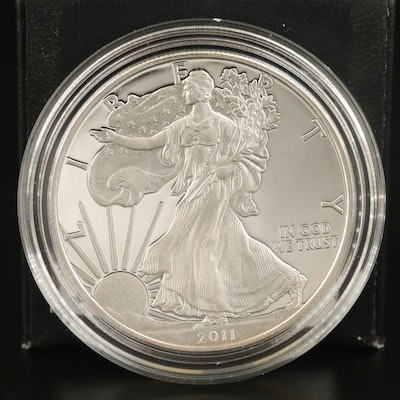 2011-W American Silver Eagle Proof Bullion Coin