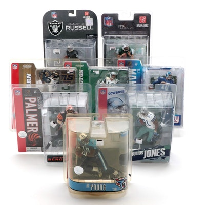 McFarlane Toys NFL Action Figures Including Eli Manning, Carson Palmer and More