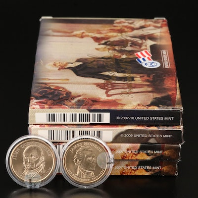 U.S. Mint Proof Presidential Dollar Coin Sets