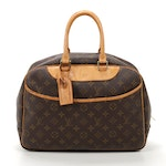 Louis Vuitton Deauville in Monogram Canvas with Luggage Tag