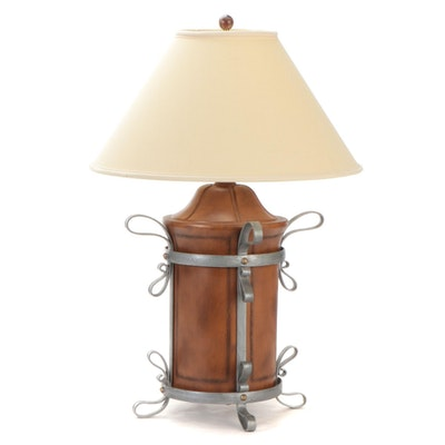 Wildwood Lamps Composite Lantern Shape Table Lamp