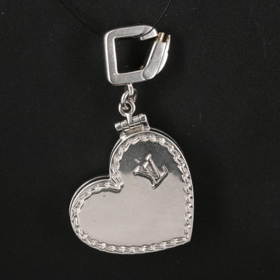 Louis Vuitton 18K Heart Locket Pendant