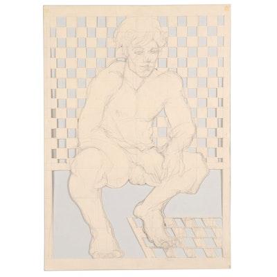 John Tuska Figural Paper Cutout