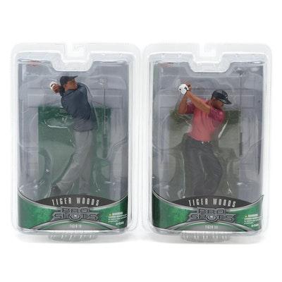 "Upper Deck Tiger Woods ""Tiger III"" and ""Tiger IV"" Figurines"